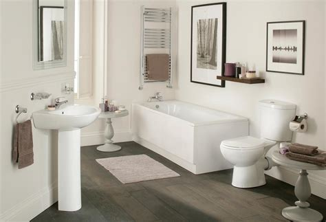 Galaxy Modern Bathroom Suite White Bath Toilet Sink Basin Modern Bathroom Suite