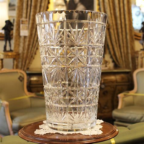 crystal decor for home large crystal vase