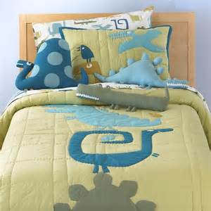 Children S Bedding Sets Boy Dinosaur Bedding Comforter Set Eclectic