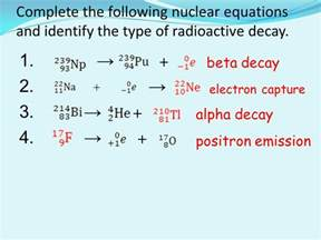 Difference Between Positron And Proton Atoms And Nuclear Chemistry Ppt