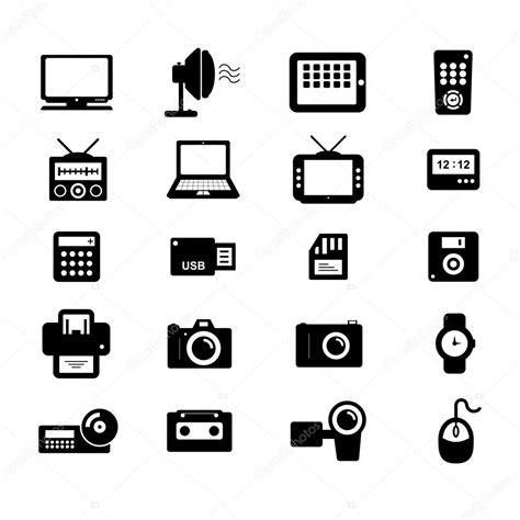 electronics icon stock vector  tzubasaz