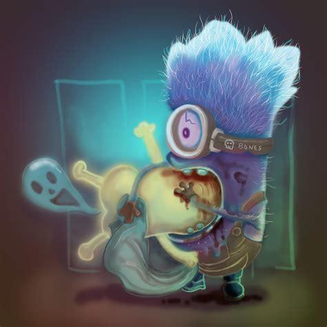 despicable 2 zombie minion fanart colour overdose