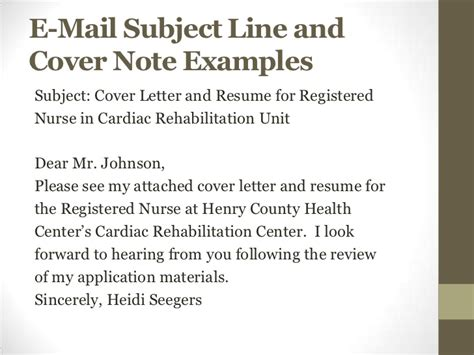 what to write in subject line when sending a resume resume and cover letter workshop