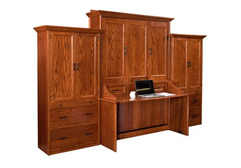desk with side storage murphy wall bed and desk with side storage units murphy