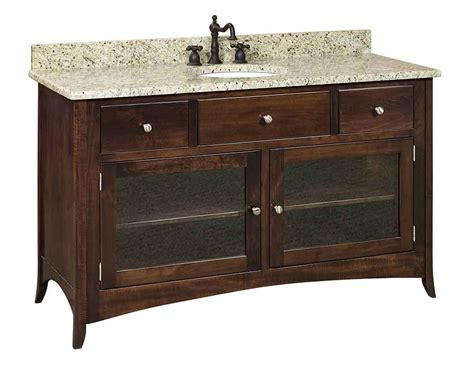 amish bathroom vanity amish made vanity sinks