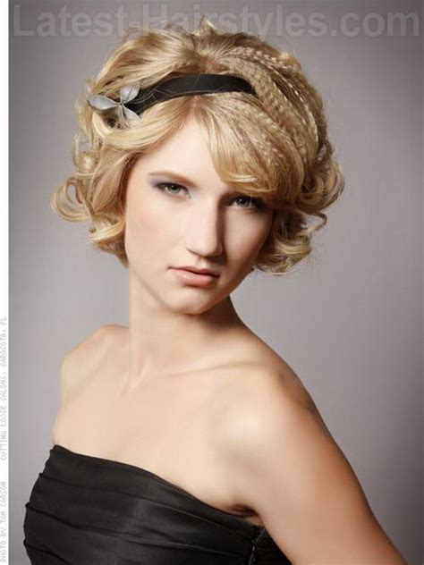 formal hairstyles with headbands prom hairstyles with headbands