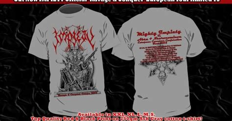 T Shirt Brookyln Bank Rubber Merch sinister merchandise impiety quot ravage conquer quot