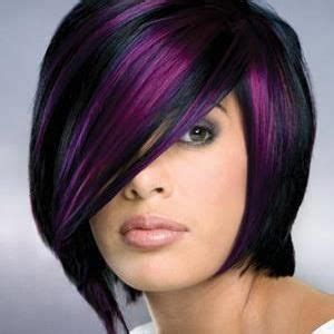 short hairstyles with peekaboo purple layer 11 best images about hair stuff on pinterest purple