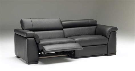 contemporary reclining loveseat with console contemporary power reclining sofa loccie better homes