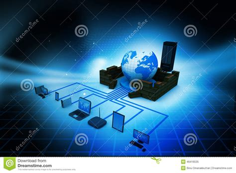 computer network stock image image  ethernet