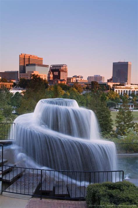 finlay park fountain columbia south carolina waterfall