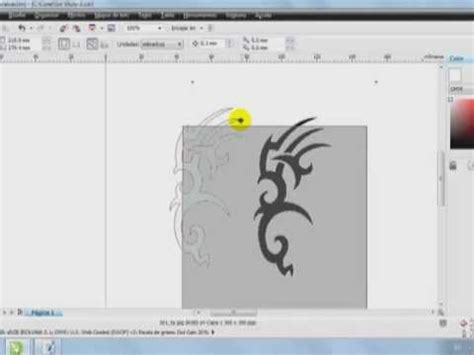 tutorial corel draw x5 romana tutorial de dibujo corel draw x5 youtube