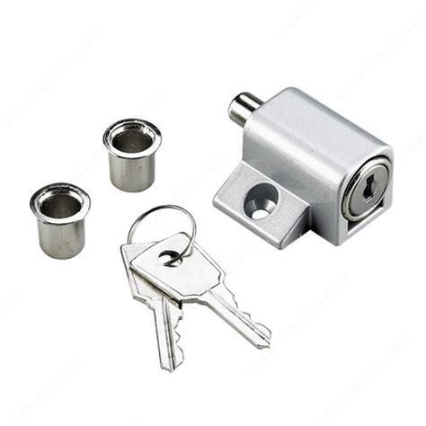 keyed patio door lock keyed patio door lock richelieu hardware