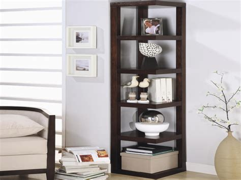 living room corner rack modern corner bookshelf coaster