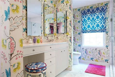 Hawkins Interiors by 20 Designs Of Stylish Bathroom Wallpapers Home Design Lover