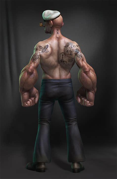 Tattooed Popeye   Ink Army