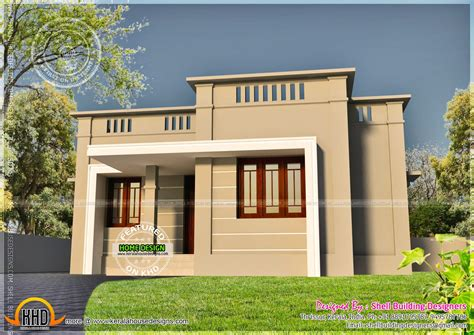 Very Small House Exterior Kerala Home Design Floor Plans Small House Plans Kerala