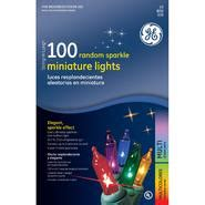 random sparkle lights general electric random sparkle light set multi colored 100 ct at sears
