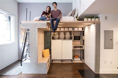 multi functional domino loft tiny apartment
