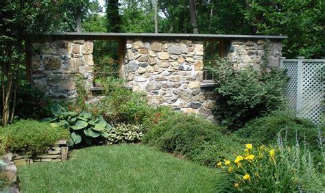 Gestaltung Gartenmauer by Gartenmauer Als Gestaltungselement Freshouse
