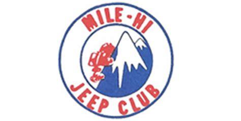 Mile High Jeep Club Mile Hi Jeep Club 2011 All 4 Event Road