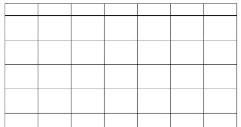 blank yearly calendar grid 10 blank calendar grid collection 2015 to print 2016