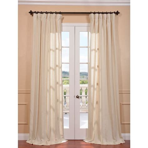 natural linen curtain panels lanai natural linen blend herringbone curtain panel