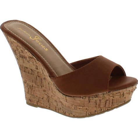 Sandal Wedges Ym08 Hitam 42 fashion focus womens ardo 42 popular wedge sandal ebay