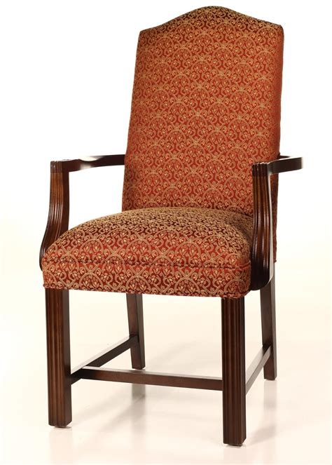 camel back dining chairs camel back chippendale dining chair with finished arms