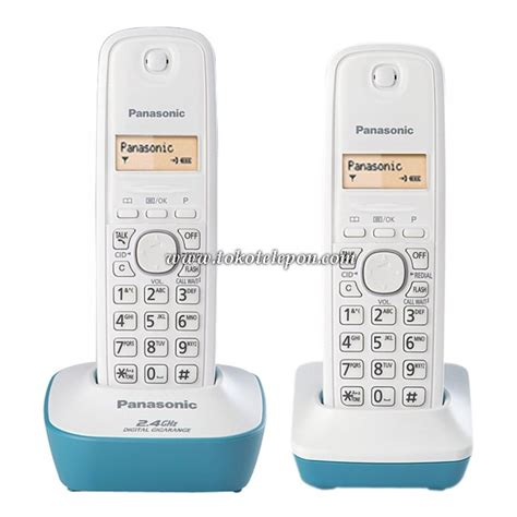 Telepon Wireless Panasonic Kx Tg6458bx 2 jual panasonic cordless wireless telepon kx tg3412