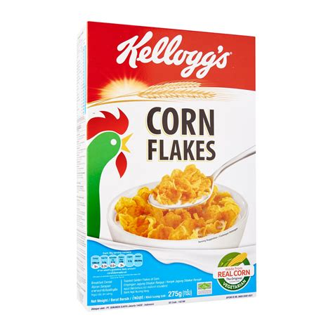 carbohydrates in kellogg s special k kellogg s classic corn flakes cereal 275g from redmart