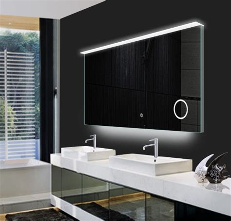Modern Led Bathroom Mirrors Mirror Design Ideas Landscape Large Led Bathroom Mirrors