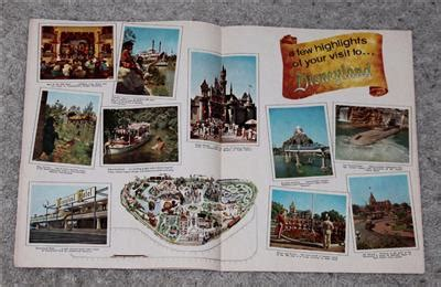 vacationland books 1962 disneyland set 27 page quot official guide book