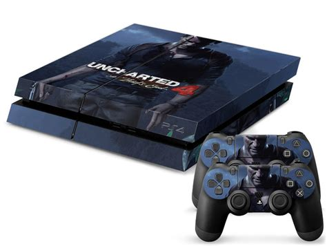 Ps4 Slim Skin Uncharted 4 sony playstation 4 ps4 skin sticker kit unchartered 4 design style pattern look ebay