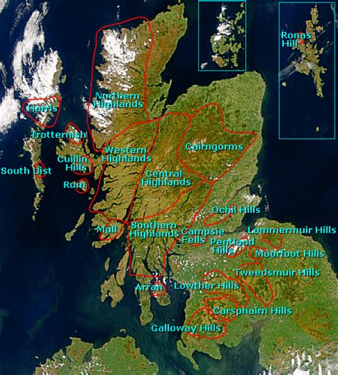 scotfax scottish mountains on undiscovered scotland