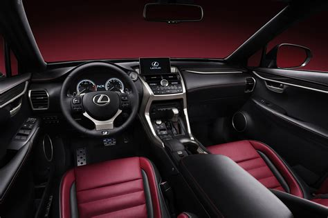lexus nx interior lexus nx puts on a bold for luxury crossover