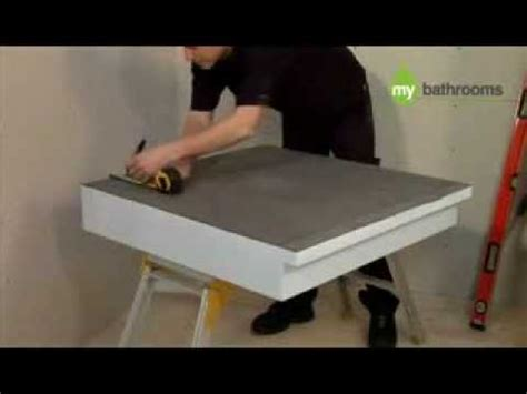 room shower tray kit raised 150mm
