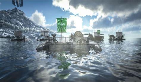 ark survival evolved boat update ark survival evolved mega pc update adds laughing