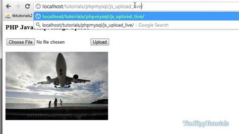 tutorial php javascript php programming tutorial php javascript image uploading