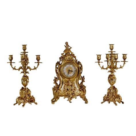 orologi da camino orologio da camino con candelabri oggettistica