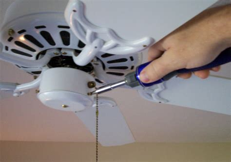 Connecting Ceiling Fan by Installing Ceiling Fan Light Kit 7562