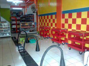 layout toko aksesoris motor usaha bengkel one stop service raja murah motor