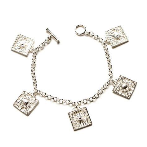 southern gates collection rice gate charm bracelet