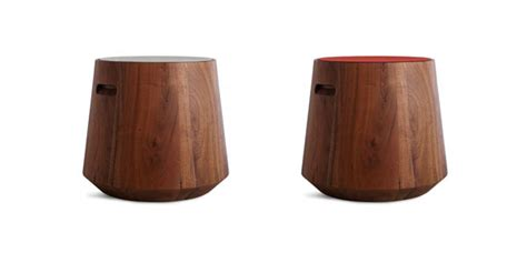Stool Changes by Wood Stool Changes Color On A Whim Furniture From Dot
