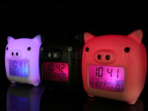 Lovely Piggy Usb Clock Relieves Stress by Lovely Piggy Moodicare Clock
