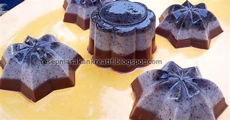 cara membuat puding oreo lembut resep membuat puding coklat oreo busa aneka resep