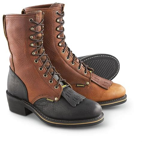 s boots s rhino 174 packer boots 87089 cowboy western boots