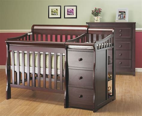 mini cribs with changing table mini crib changing table future grandchild