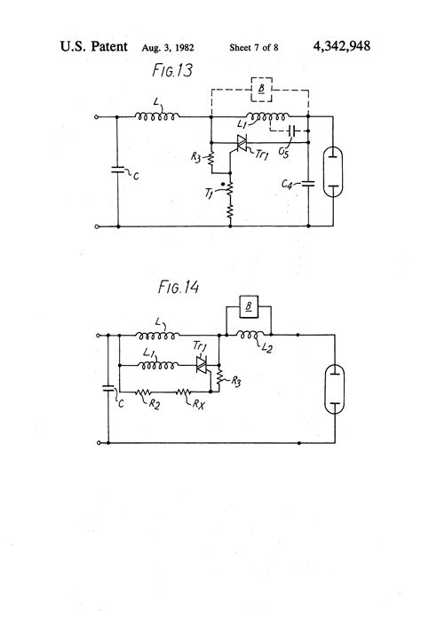 ballast coupled inductor patent us4342948 electric discharge l converter circuits patentsuche