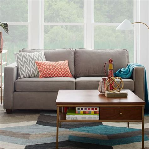 west elm henry couch henry 174 sofa 76 quot west elm
